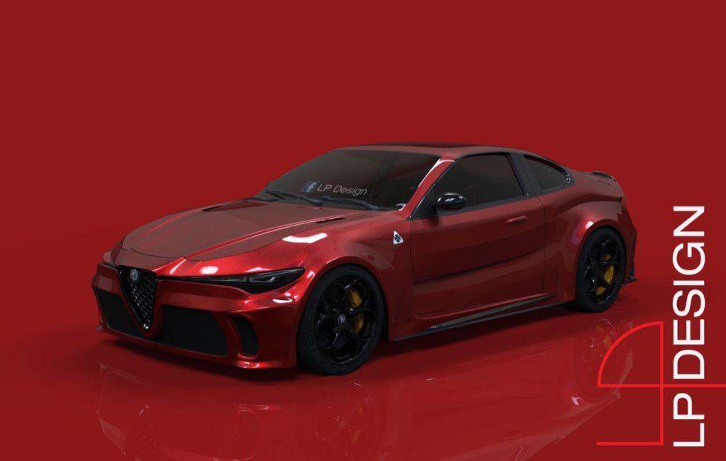 Alfa Romeo GTV Concept: una nuova ipotesi, immaginando una futura sportiva [RENDERING]