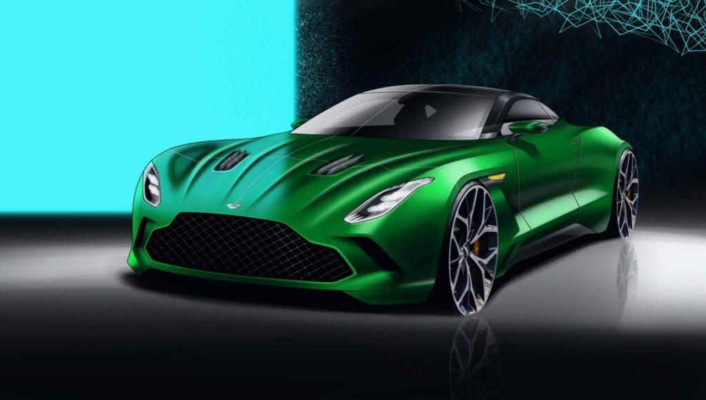Aston Martin DB12: l'ipotesi stilistica del successore della DB11 [RENDERING]