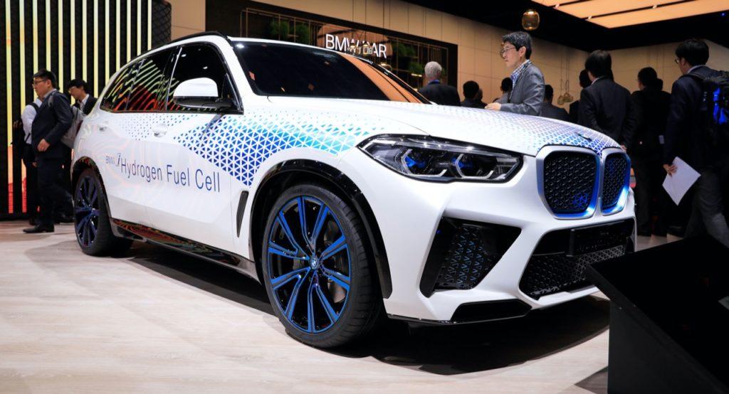 BMW X6 e X7, in cantiere le versioni fuel cell a idrogeno per il 2021