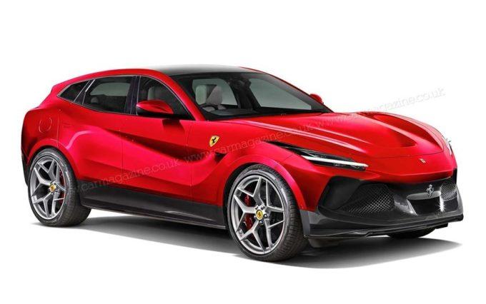 Ferrari Purosangue: il SUV di Maranello viene immaginato così [RENDERING]