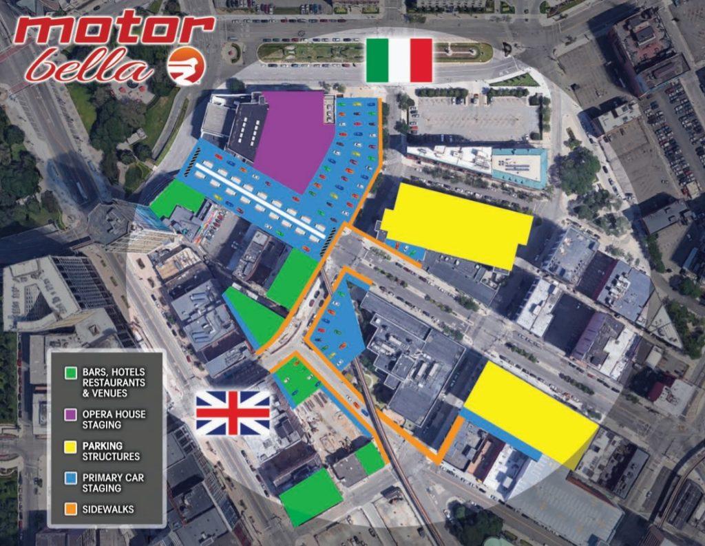 Motor Bella, il festival di supercar italiane e britanniche che animerà Detroit alla vigilia del NAIAS 2020