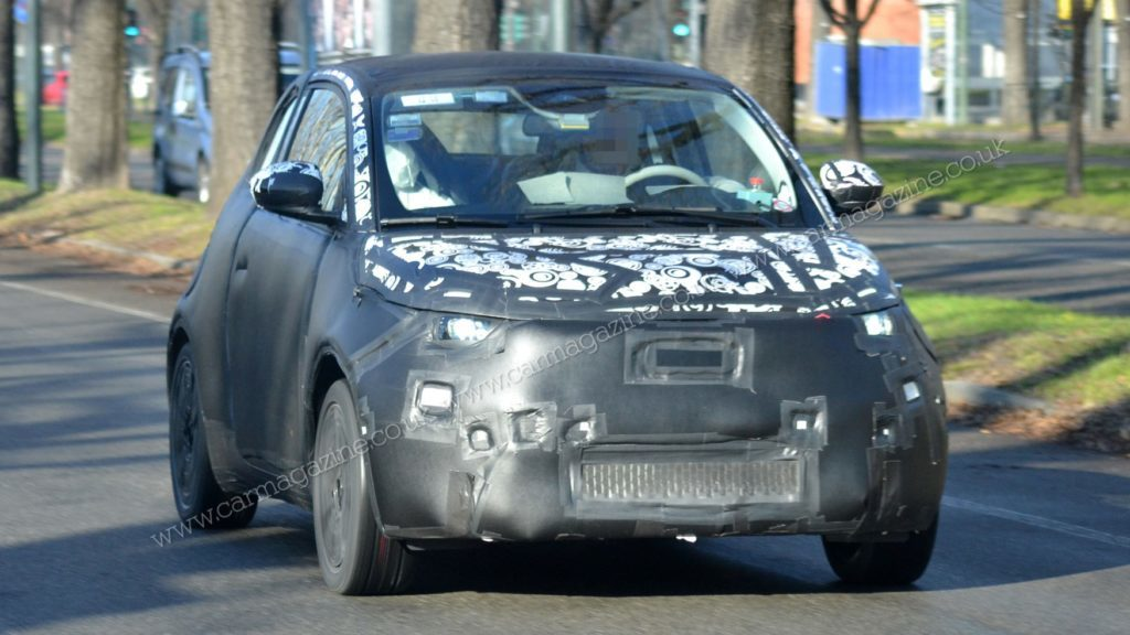 Fiat 500e 2020 - Foto spia 24-01-2020