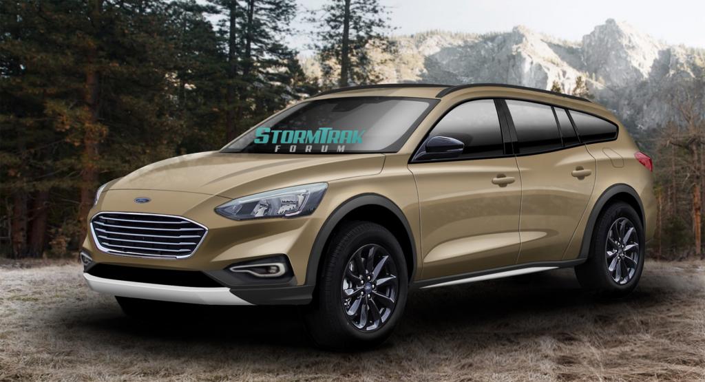 Ford Stormtrak: la nuova wagon off-road potrebbe essere così [RENDERING]