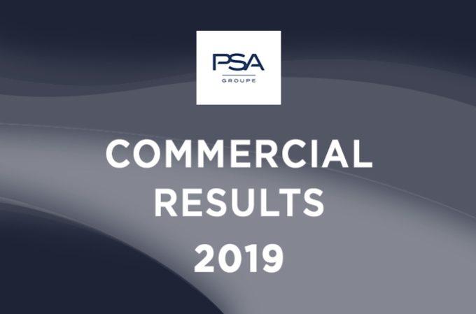 Groupe PSA: 3,5 milioni di veicoli venduti nel mondo nel 2019