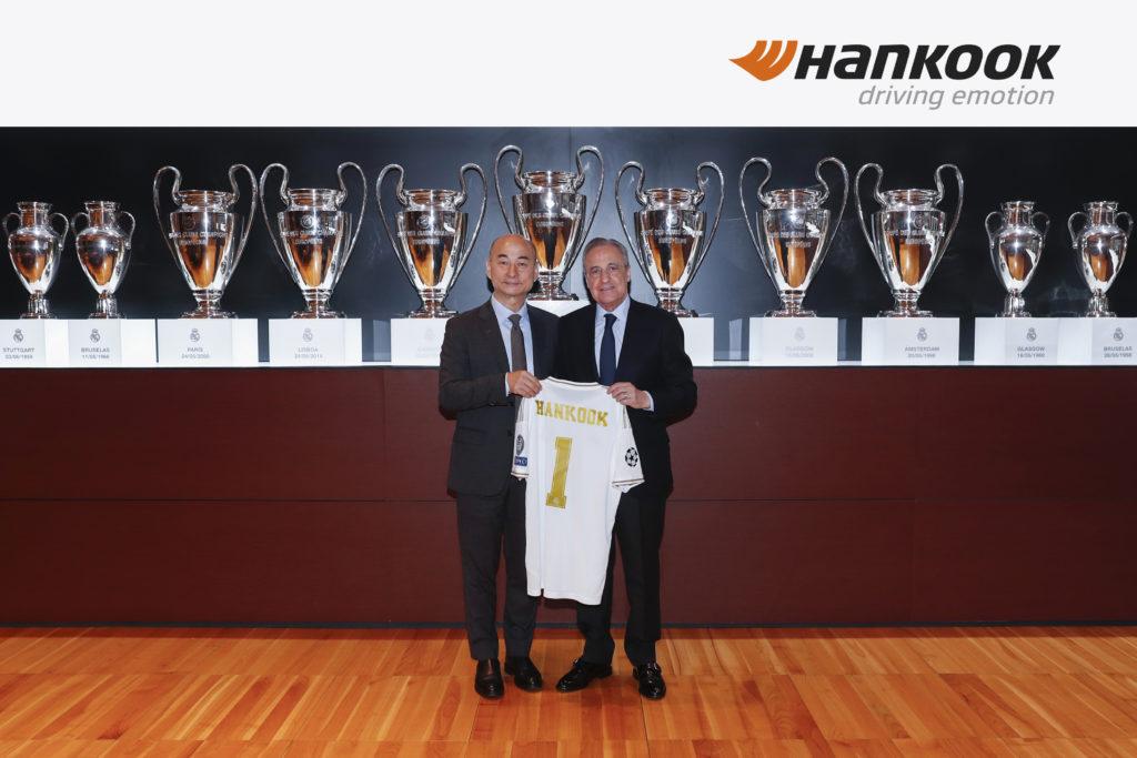 Hankook prolunga fino al 2023 la partnership con il Real Madrid