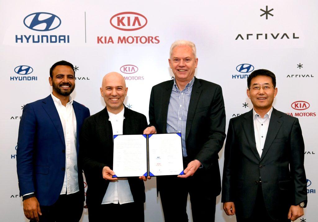 Hyundai e Kia: veicoli commerciali elettrici nel mirino, investimento di 100 milioni di euro in Arrival