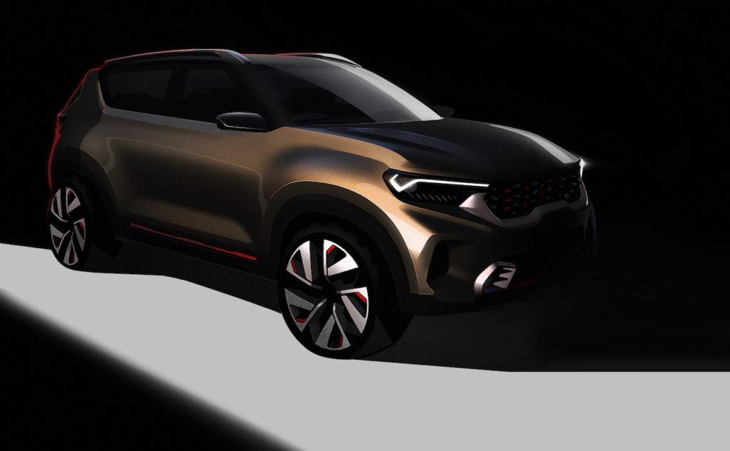 Kia: un concept di un futuro SUV compatto sarà svelato in India [TEASER]