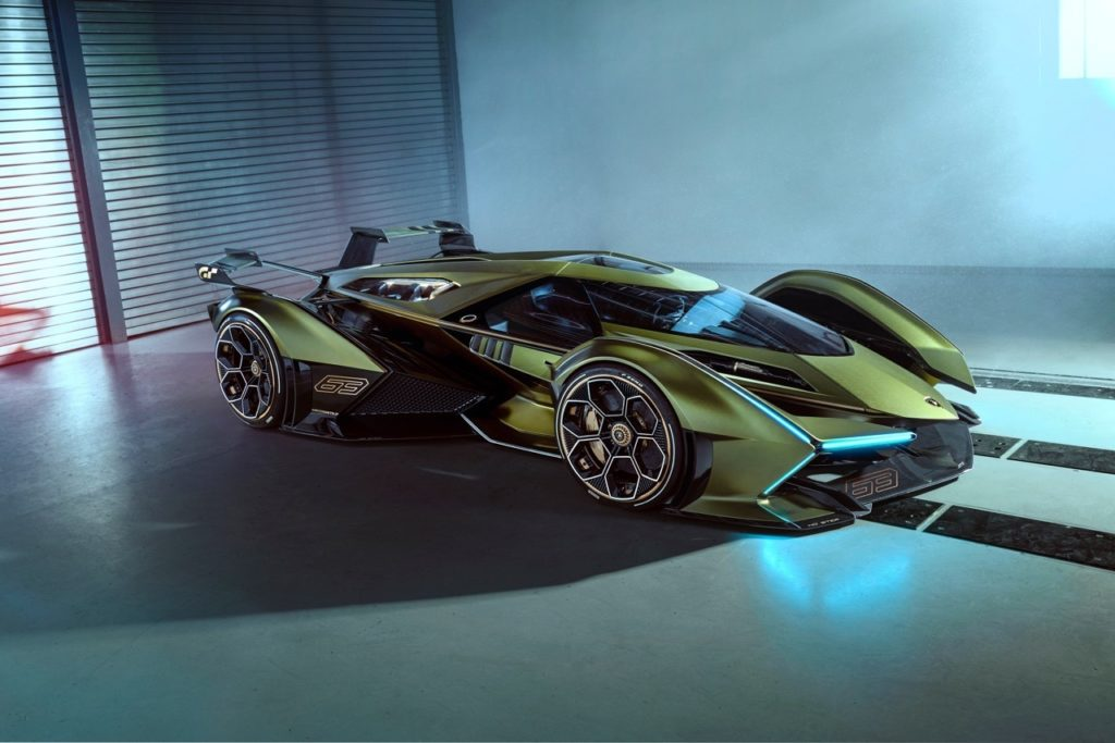 Lamborghini V12 Vision Gran Turismo in mostra al Festival Automobile International 2020 di Parigi [VIDEO]