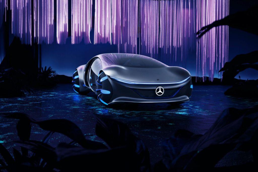 Mercedes-Benz Vision AVTR - CES Las Vegas 2020