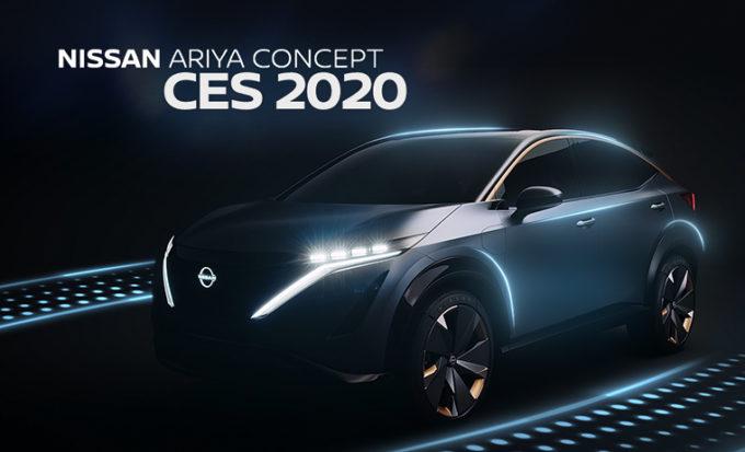 Nissan Ariya, al CES 2020 il concept manifesto dell'ospitalità giapponese