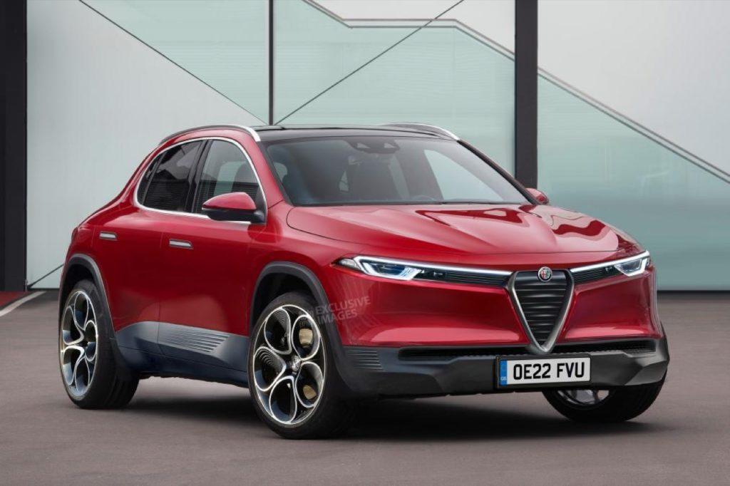 Nuovo Alfa Romeo B-SUV, arrivano le prime ipotesi stilistice con le piattforme PSA [RENDERING]
