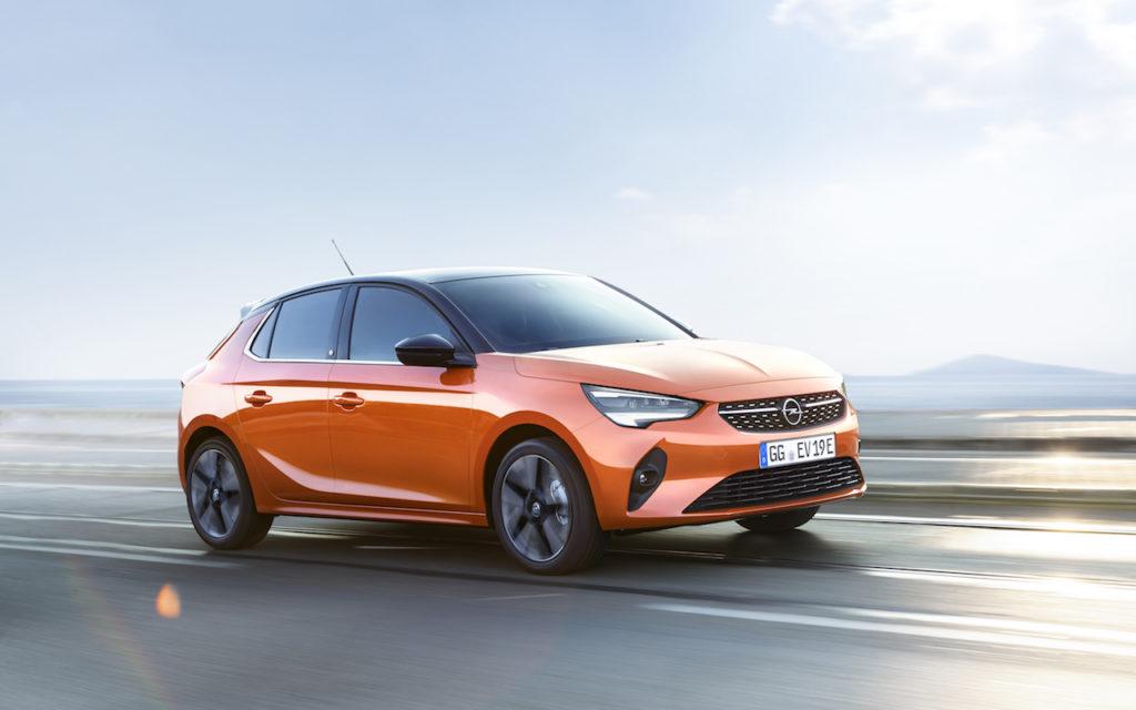 Opel Corsa elettrica: il risparmio arriva nei costi di gestione