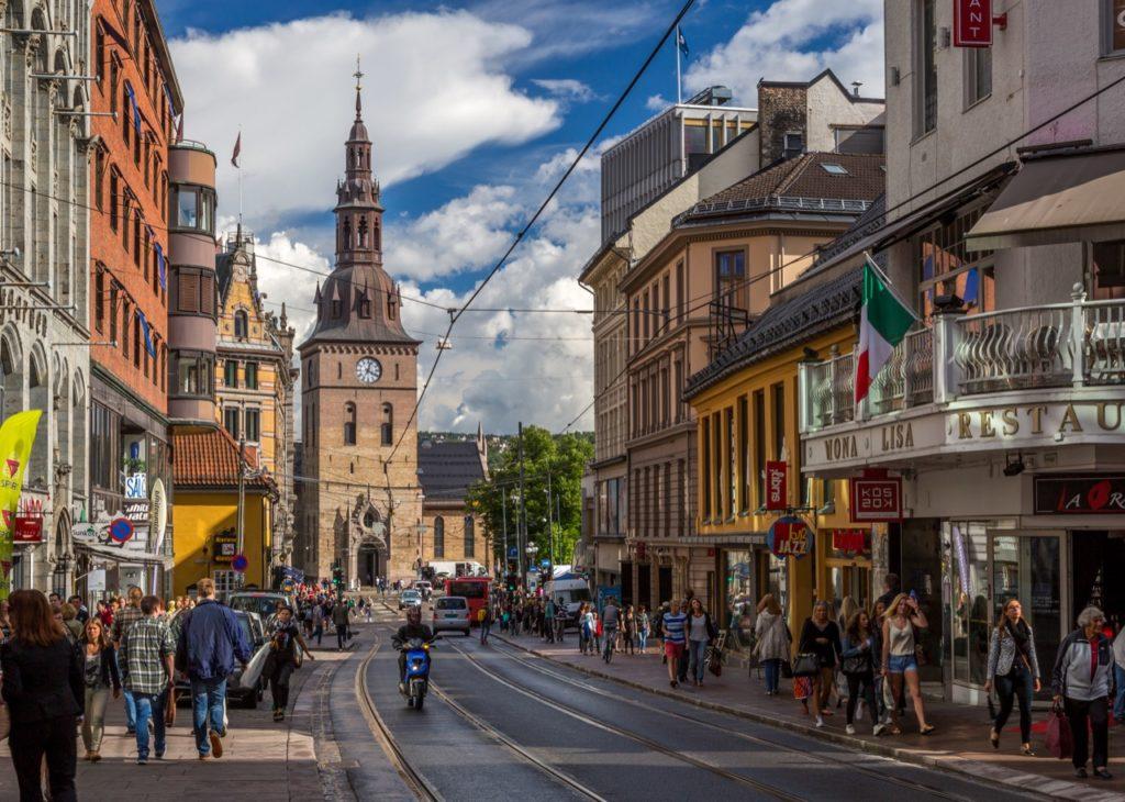 Oslo, una sola vittima per incidenti stradali in un anno, è record!