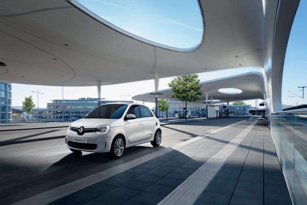 Renault Twingo elettrica - Foto ufficiali