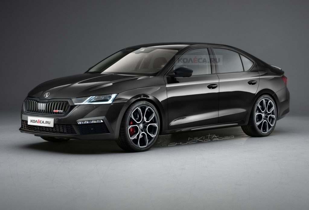 Nuova Skoda Octavia RS: idea stilistica per la futura alternativa all'Audi S4 [RENDERING]