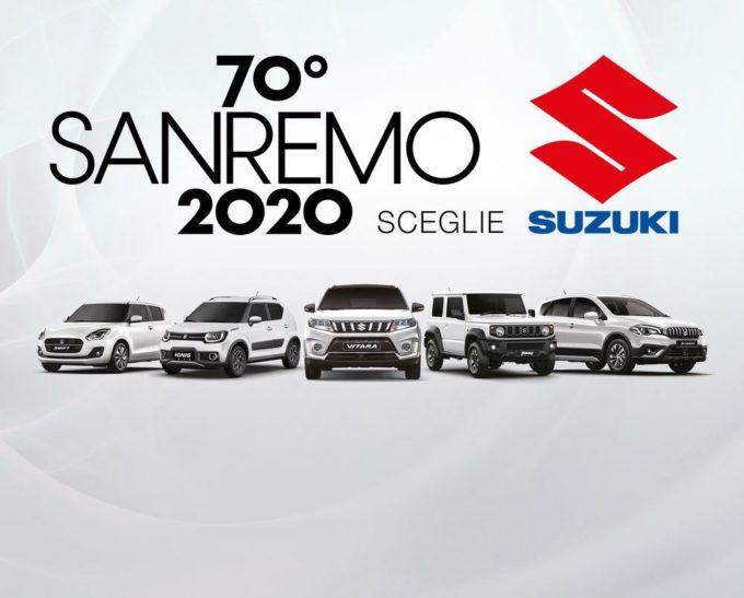 Suzuki Hybrid: gamma in passerella al Festival di Sanremo 2020