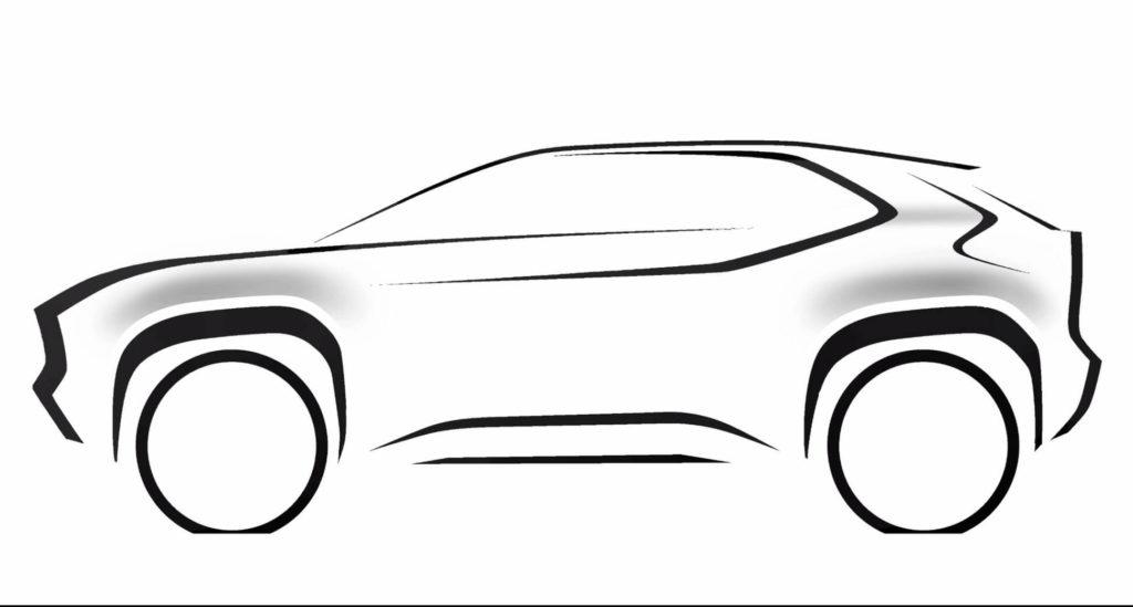 Toyota produrrà un nuovo mini-SUV su base Yaris, si posizionerà sotto la C-HR [TEASER]