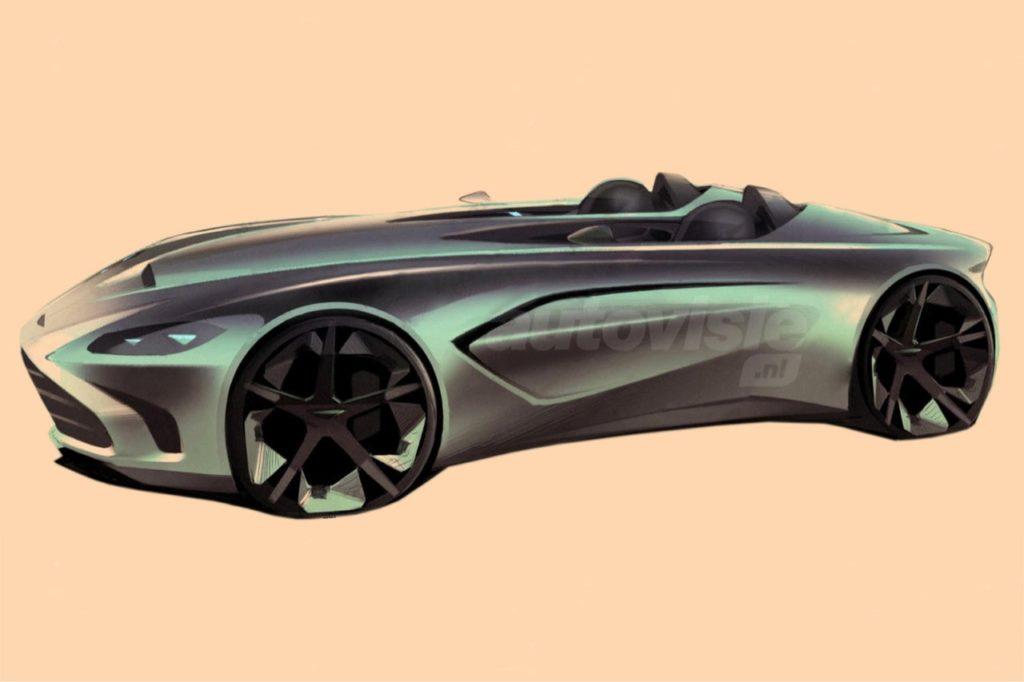 Aston Martin V12 Speedster, ipotesi stilistica dell'attesa supercar [RENDERING]