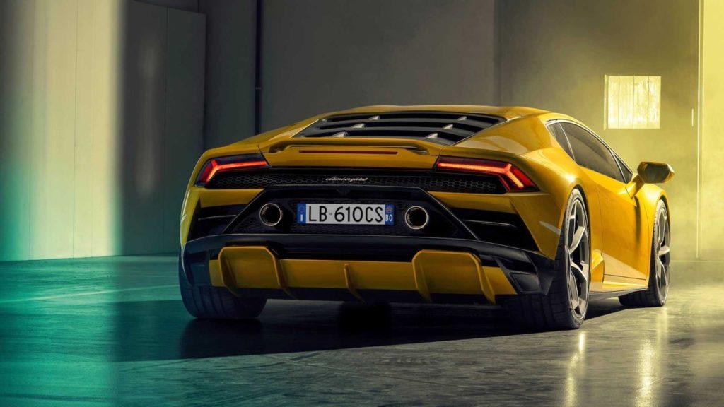 Lamborghini Huracan Evo RWD, trazione tutta dietro con ben 610 CV