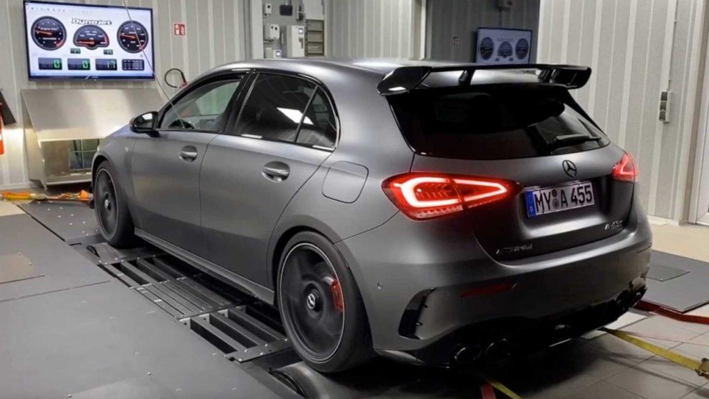Nuova Mercedes-AMG A45 S, il tuning di Renntech spinge la potenza a 592 CV
