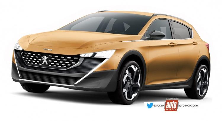 Peugeot 308 2020: è attesa anche una variante SUV [RENDERING]
