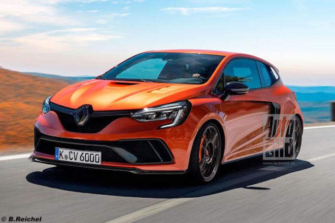 Renault Clio V6: la rivisitazione della versione 'cattiva' [RENDERING]