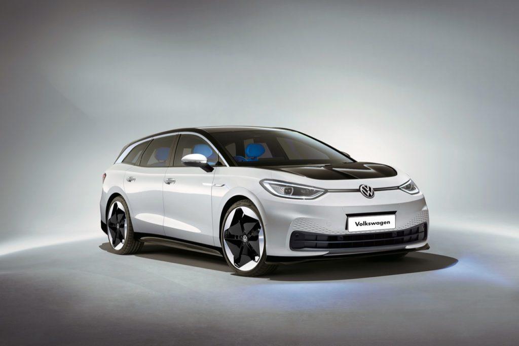Volkswagen ID.3, la prima elettrica del gruppo potrebbe diventare anche SW [RENDERING]