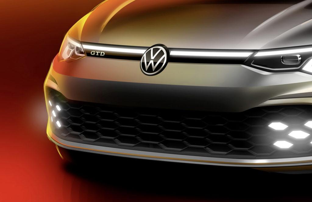 Volkswagen Golf GTD 2020: pronta per il Salone di Ginevra 2020 [TEASER]