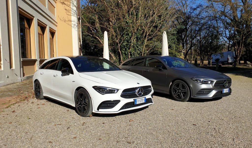 Mercedes CLA Shooting Brake  2020- Prova su strada Bologna