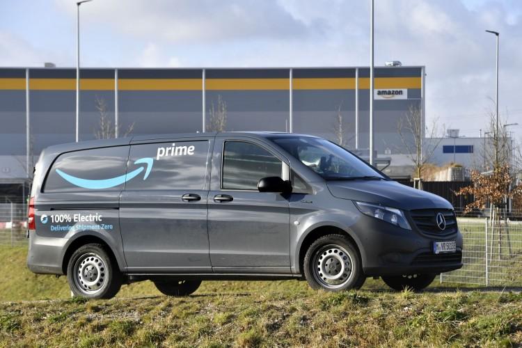 Amazon e Mercedes eVito per le consegne a zero emissioni