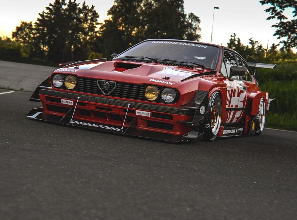 Alfa Romeo GTV6: il RENDERING di un allestimento esagerato per l'iconica sportiva