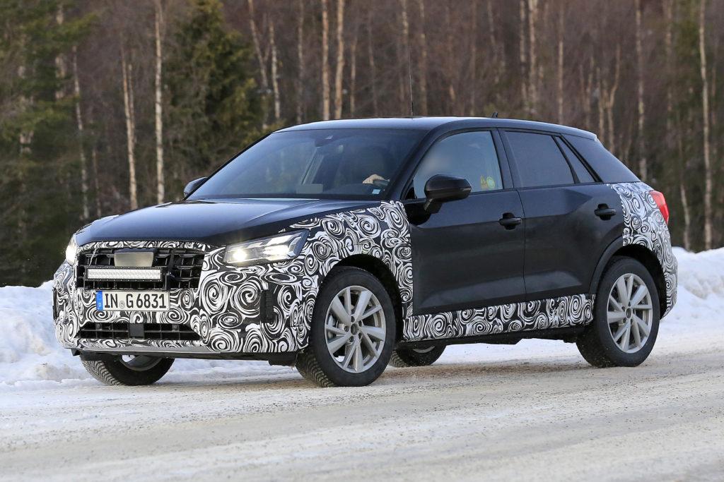 Audi Q2 2021: il restyling con nuovi motori ibridi 48 Volt