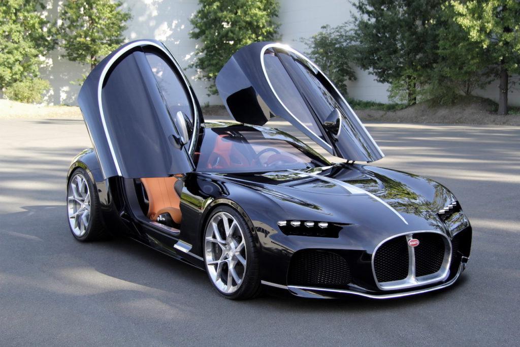 Bugatti: svelate tre concept segrete, mai entrate in produzione