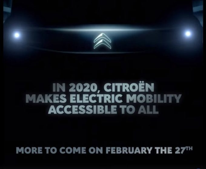 Citroen: in arrivo un nuovo modello che promette mobilità elettrica accessibile a tutti [TEASER]