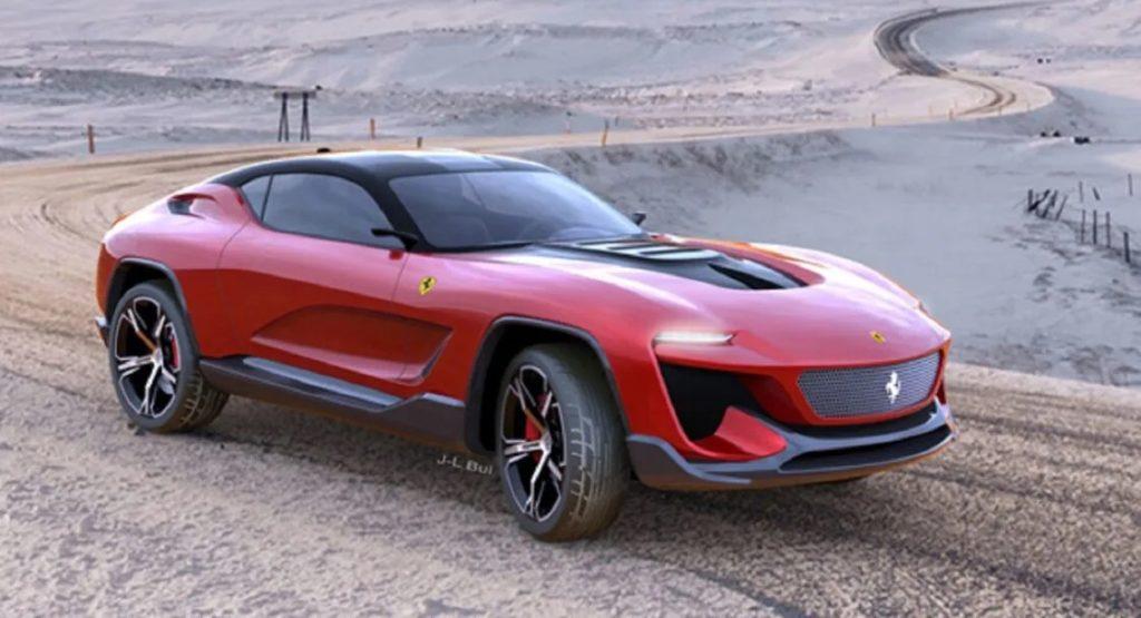 Ferrari GT Cross Concept - Rendering