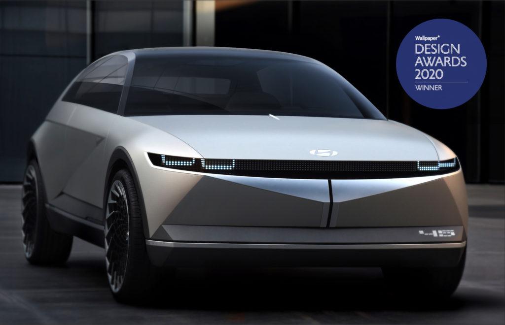 Hyundai Concept 45 vince il premio Wallpaper* per il design