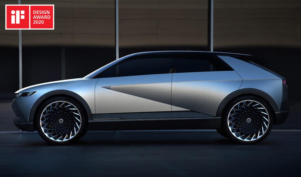 Hyundai conquista due titoli agli iF Design Awards 2020 con 45 Concept e Sonata Turbo