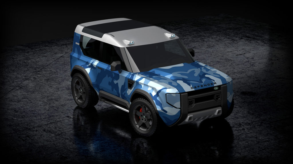 Land Rover Defender Baby - Rendering