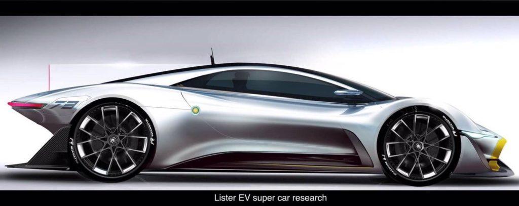 Lister Storm II: la nuova hypercar elettrica si avvicina [TEASER]