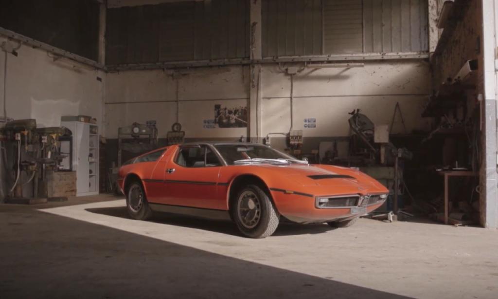Maserati Bora del 1971: storico esempio di forza, innovazione e aerodinamica [VIDEO]