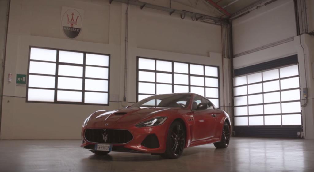 Maserati GranTurismo: ricordando la filante visione sportiva del Tridente [VIDEO]