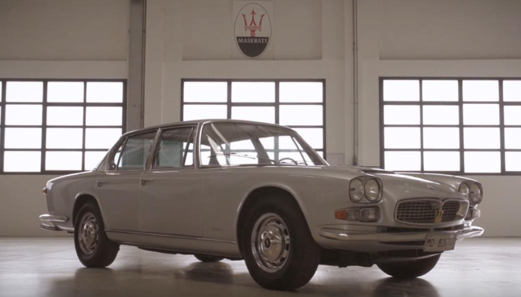 Maserati Quattroporte del 1963: un modello cardine nella storica produzione del marchio [VIDEO]