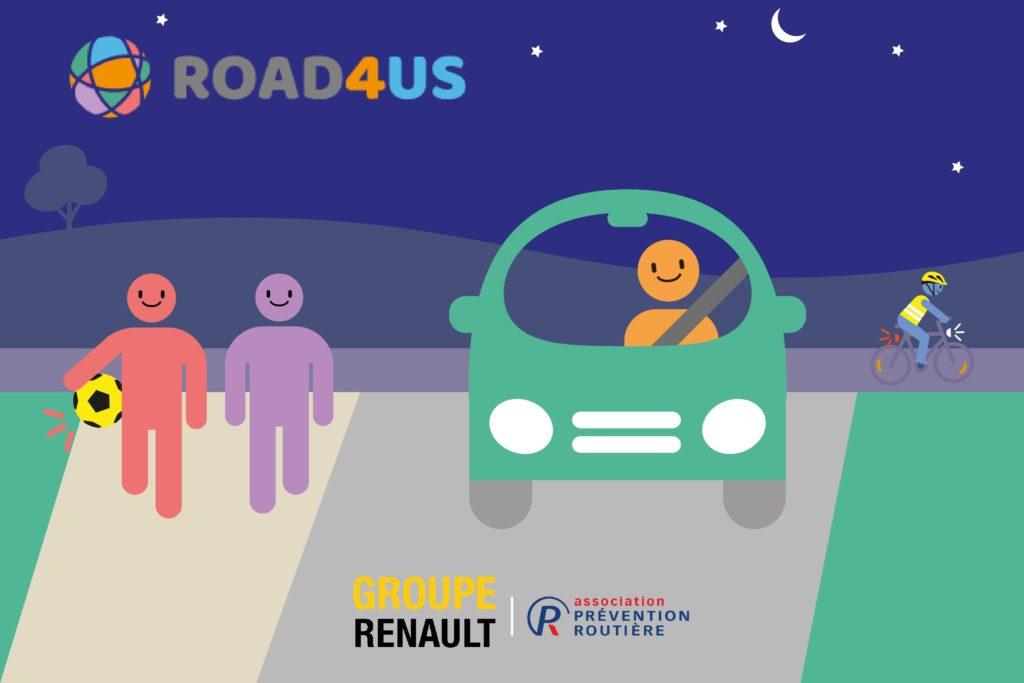 Gruppo Renault alleato della prevenzione stradale con il nuovo sito online Road4us