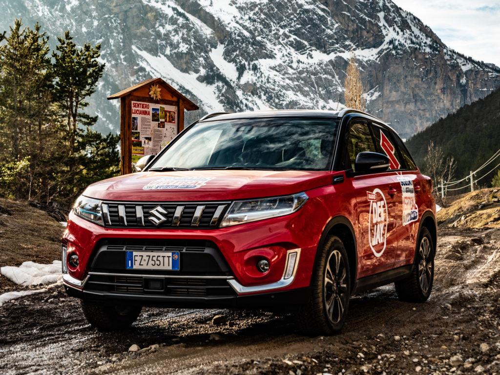 Suzuki 4×4 Hybrid Vertical Winter Tour arriva sulle piste di Prato Nevoso