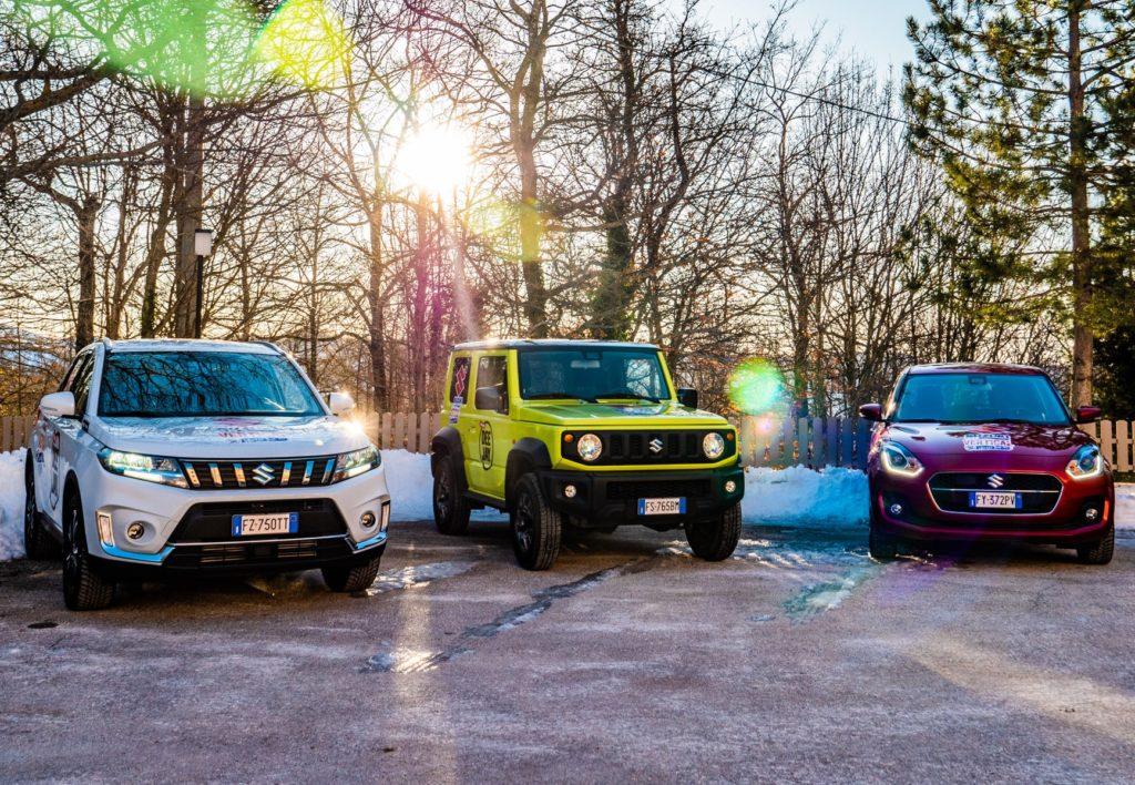 Suzuki 4×4 Hybrid Vertical Winter Tour: il 15 e 16 febbraio è a Bardonecchia