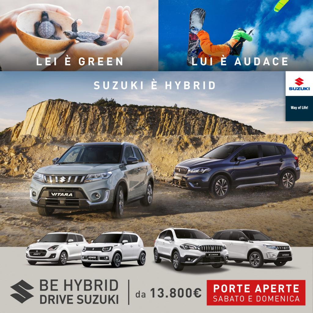 Suzuki Hybrid, tecnologia da scoprire in concessionaria: porte aperte sabato 8 e domenica 9 febbraio
