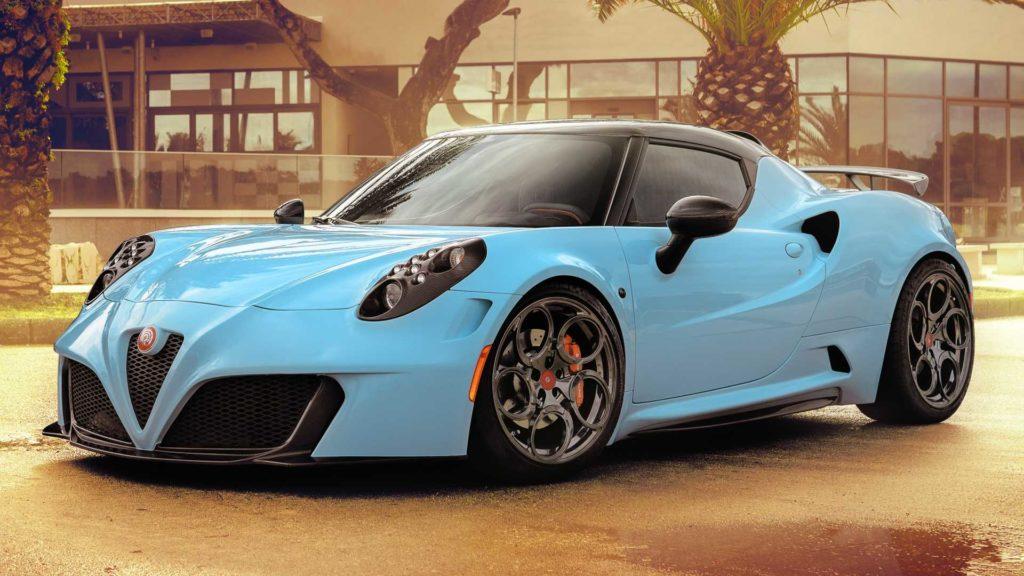 Alfa Romeo 4C completamente elettrica? Si, grazie a Yamaha