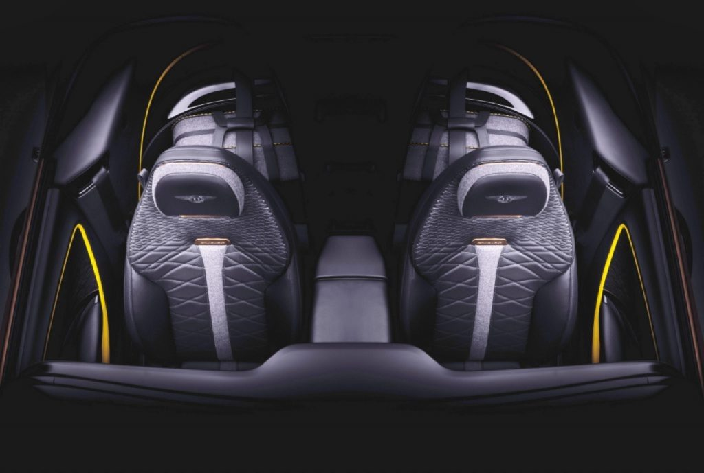 Bentley Mulliner Bacalar, un'altra immagine anticipa il design dei sedili, in attesa di Ginevra 2020 [TEASER]