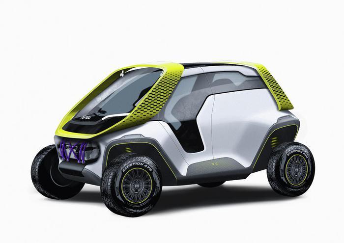 IED Tracy: il prototipo elettrico per il Salone di Ginevra 2020