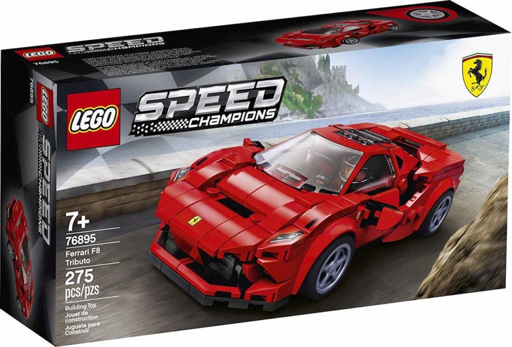 Ferrari F8 Tributo: arriva anche il modellino firmato Lego